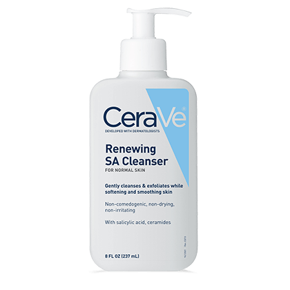 CeraVe SA Cleanser Salicylic Acid. It is good for Acne, Blackheads, Whiteheads and getting rid of Sebaceous Filaments.