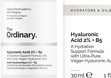 Ordinary Hyaluronic Acid Bottle zoomed in
