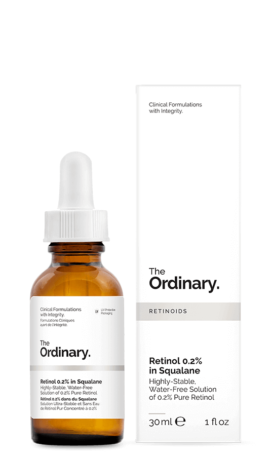The Ordinary Retinol 2% in Squalane for Acne Scar Treatment