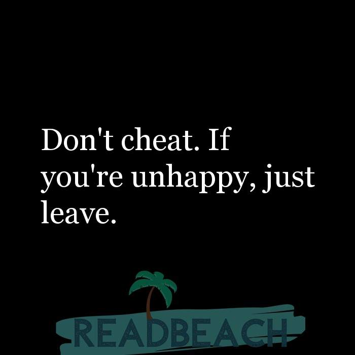 Cheats when quotes someone on you Messages to