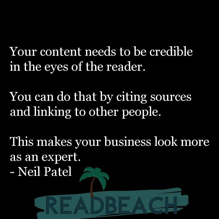 8 Writing Quotes with Pictures 📸🖼️ - Your content needs to be credible in the eyes of the reader. You can do that