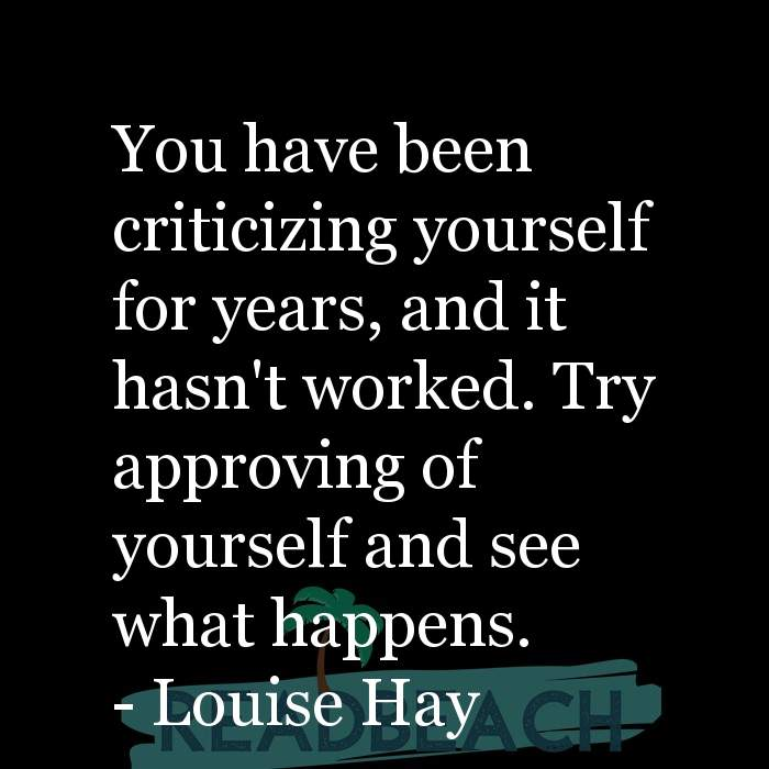 Motivational BBW Quotes | Plus Size Women - You have been criticizing yourself for years, and it hasn't worked. Try approving