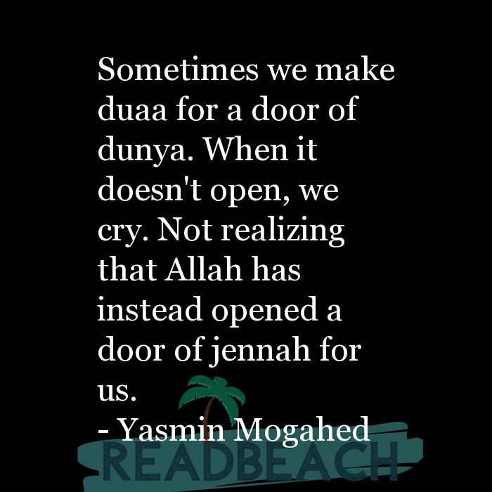 6 Crying Quotes with Pictures 📸 - Sometimes we make duaa for a door of dunya. When it doesn't open, we cry. Not realizing