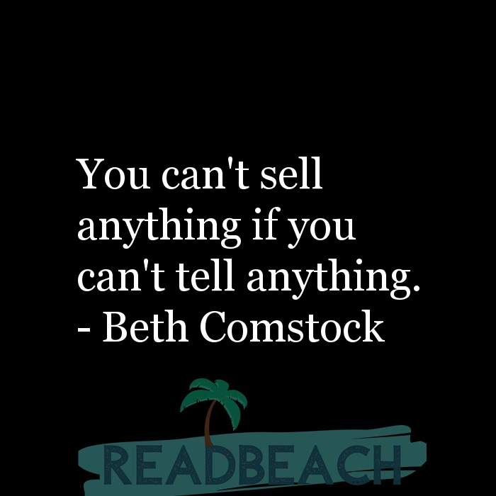 Digital Marketing Quotes - You can't sell anything if you can't tell anything.