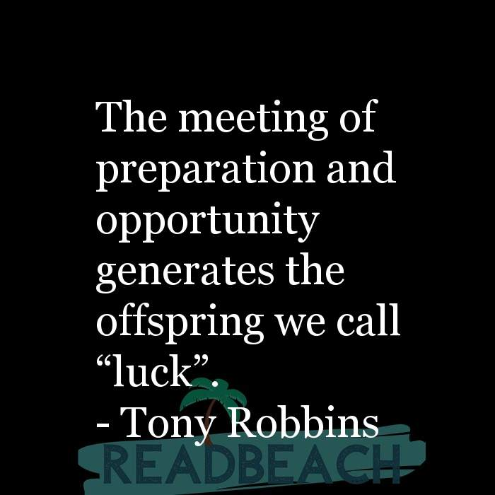 "10 Mindset Quotes with Pictures 📸🖼️ - The meeting of preparation and opportunity generates the offspring we call ""l"