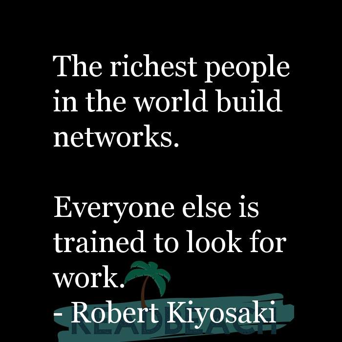 1 Network Marketing Quotes with Pictures 📸🖼️ - The richest people in the world build networks. Everyone else is t