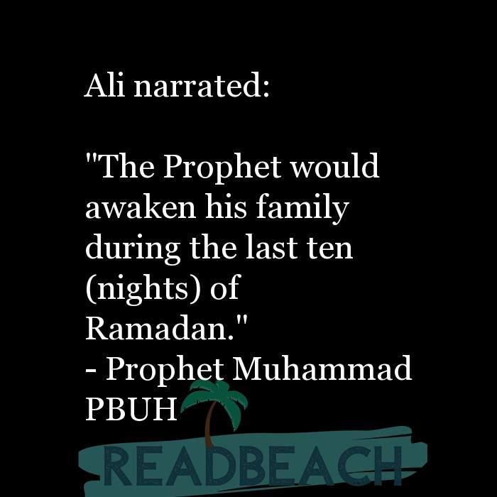 1 Laylatul Qadr Quotes - Ali narrated: