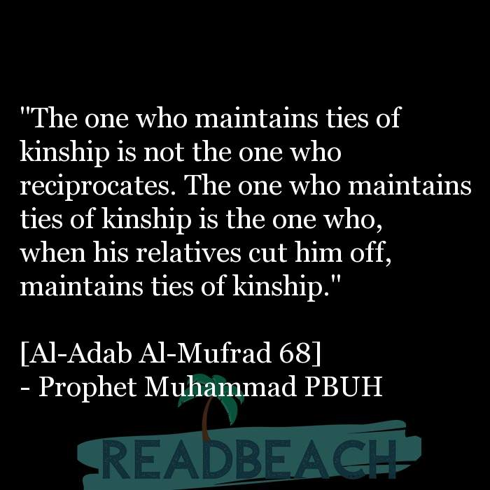 "43 Eve Quotes with Pictures 📸🖼️ - ""The one who maintains ties of kinship is not the one who reciprocates. The one who"