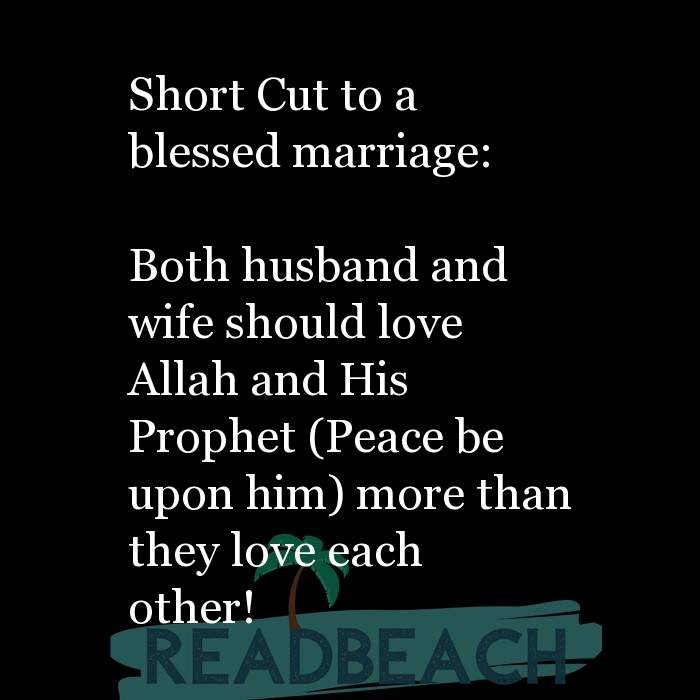 29 Islamic Quotes For Husband with Pictures 📸🖼️ - Short Cut to a blessed marriage: Both husband and wife should lo