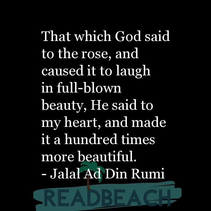 84 Instagram Quotes with Pictures 📸🖼️ - That which God said to the rose, and caused it to laugh in full-blown beauty,