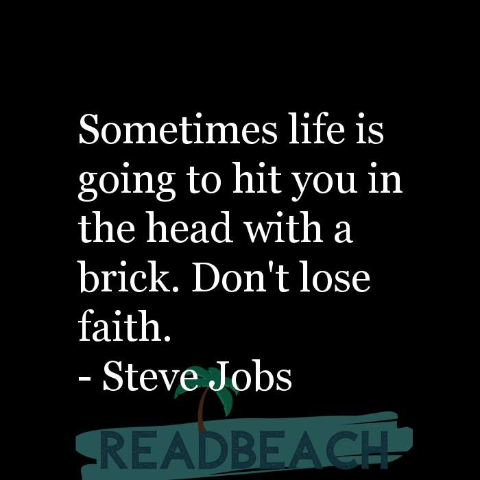 2 Life Struggle Quotes with Pictures 📸🖼️ - Sometimes life is going to hit you in the head with a brick. Don't lose fa