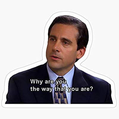Michael Scott Quotes - Why are you the way that you are?