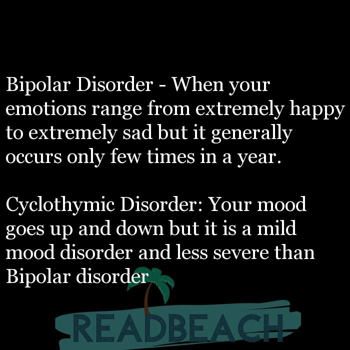 9 Sadness Quotes with Pictures 📸🖼️ - Bipolar Disorder - When your emotions range from extremely happy to extremely sa