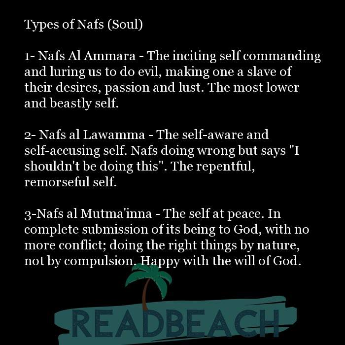 8 Animals Quotes with Pictures 📸🖼️ - Types of Nafs (Soul) 1- Nafs Al Ammara - The inciting self commanding and lur