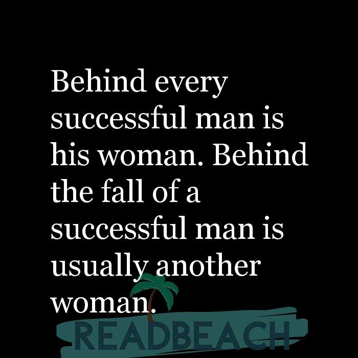 A wife will another his man leave when woman for The Four