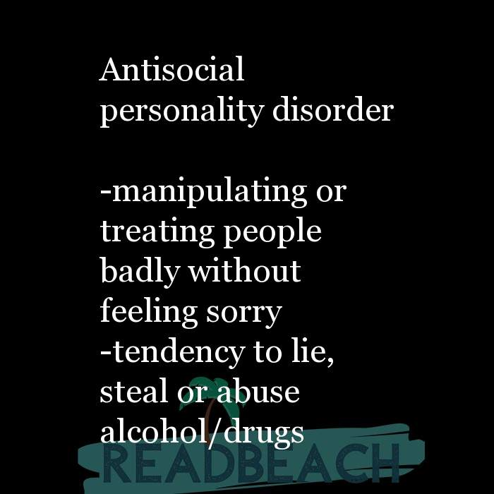 6 Abuse Quotes with Pictures 📸🖼️ - Antisocial personality disorder -manipulating or treating people badly without