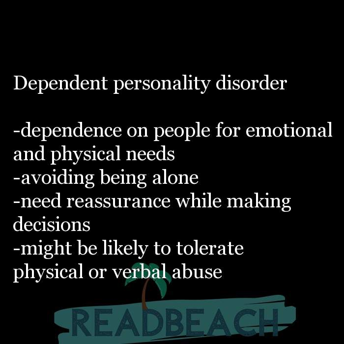 6 Abuse Quotes with Pictures 📸🖼️ - Dependent personality disorder -dependence on people for emotional and physical