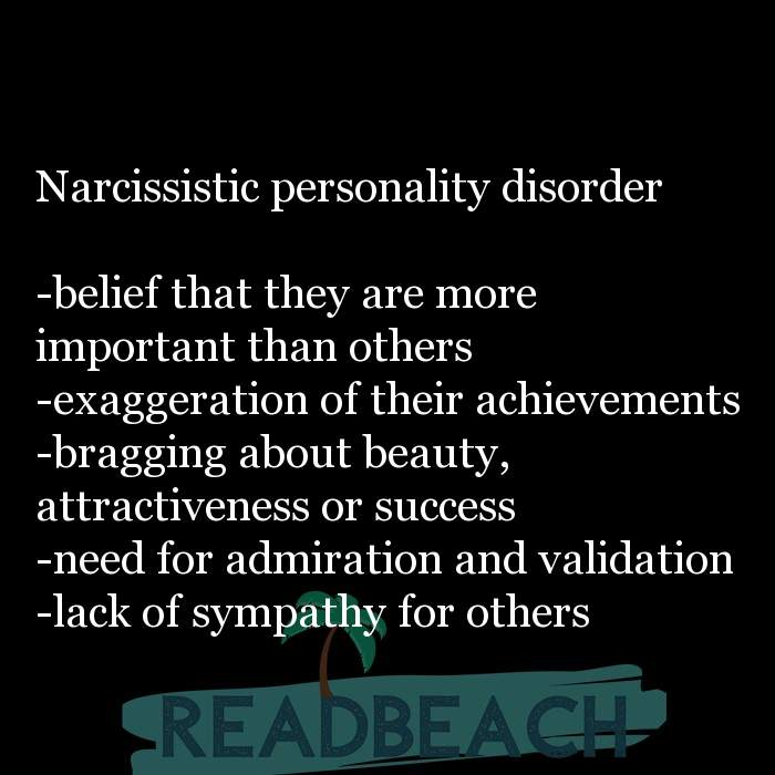 2 Sympathy Quotes with Pictures 📸🖼️ - Narcissistic personality disorder -belief that they are more important than