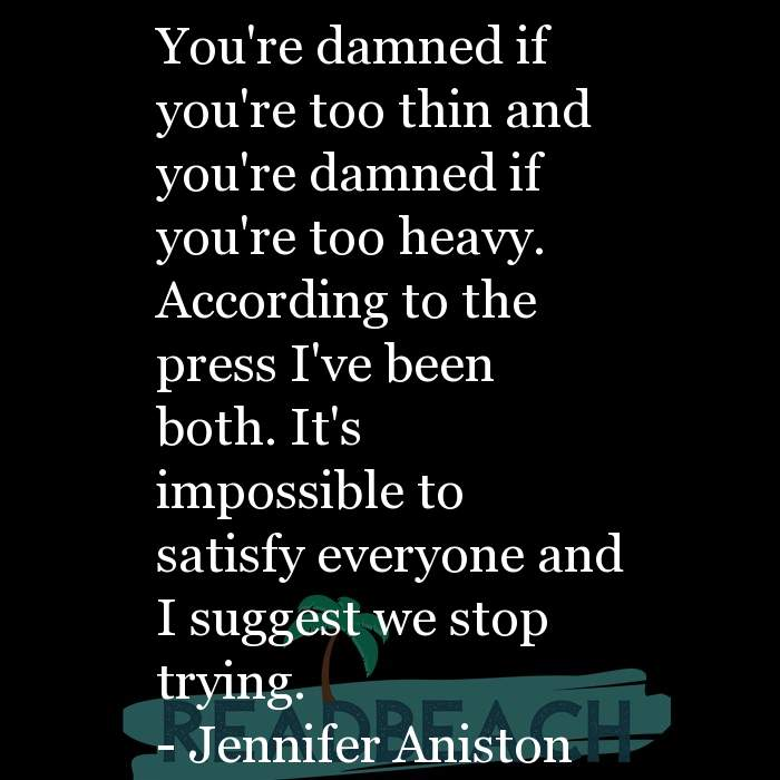 Motivational BBW Quotes | Plus Size Women - You're damned if you're too thin and you're damned if you're too heavy. According