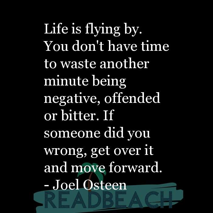 33 Time Quotes with Pictures 📸🖼️ - Life is flying by. You don't have time to waste another minute being negative, off