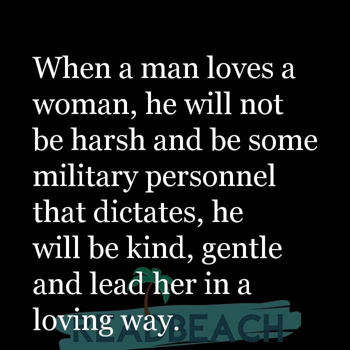 How a woman loves
